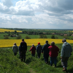 Linclonshire Wolds Walking Festival